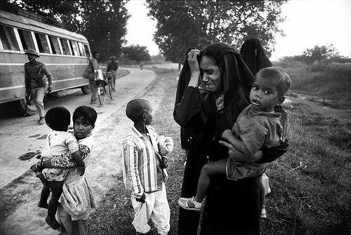Abbas Attar Bengali refugees near Saidpur, East Pakistan, 1971.