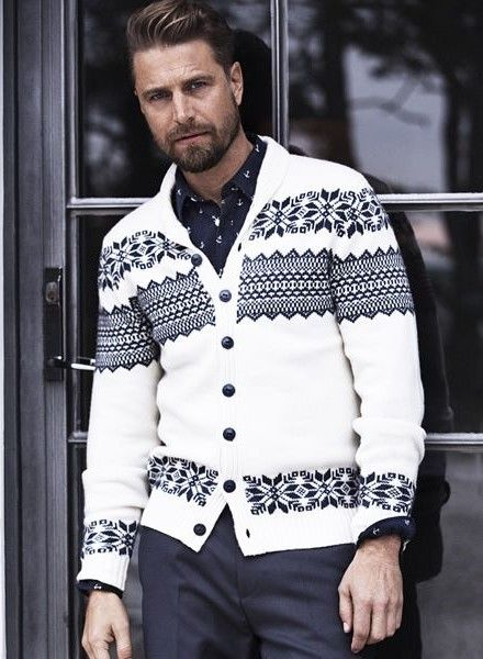 305 best Fair Isle & patterned cardigans images on Pinterest ...