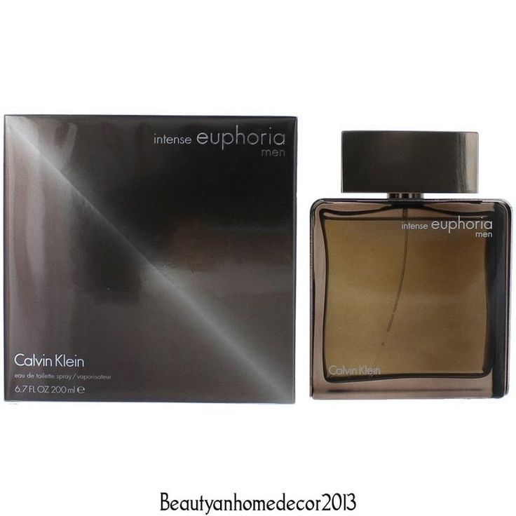 Euphoria Intense by Calvin Klein 6.7 oz EDT Cologne Spray for Men New in Box #CalvinKlein