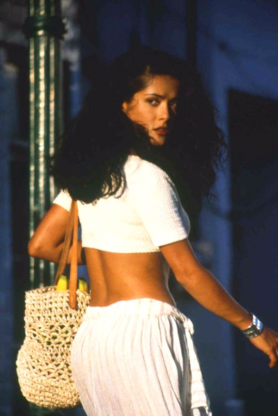 Salma Hayek the hair, the skirt = perfection