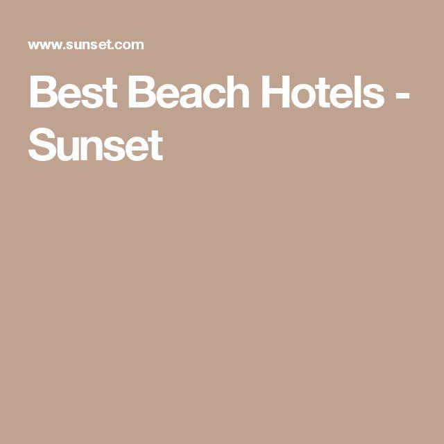 Best Beach Hotels - Sunset