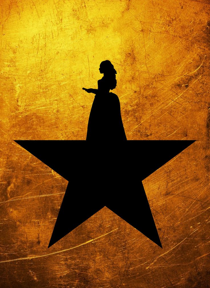 Star posters, with favorite Hamilton characters
