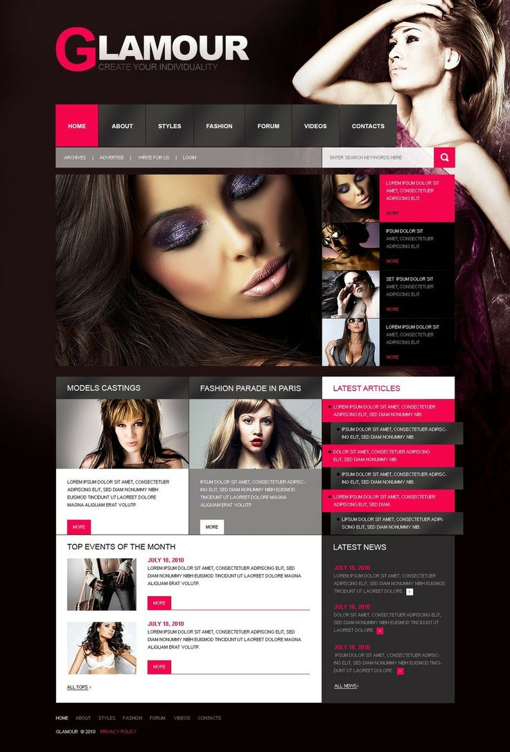 You will love our New beauty and fashion design. www.titantemplates.com/en/category/beauty
