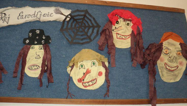 Čarodějnice (Witch - decoration)