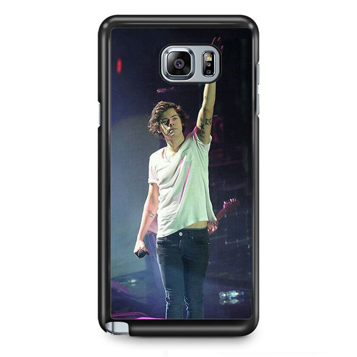 One Direction Konser TATUM-8228 Samsung Phonecase Cover Samsung Galaxy Note 2 Note 3 Note 4 Note 5 Note Edge