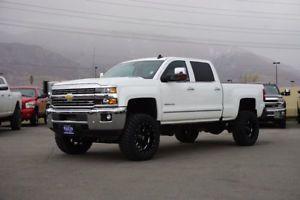 2016 Chevrolet Silverado 2500 Ltz Chevy Crew Cab 4x4 Duramax Sel Lifted Truck Custom New Wheels Tires Nav