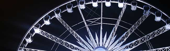 On the top of the list of amusements is the Wheel Of Surfers Paradise; a 60m 'Wheel of Excellence' located on top of the Surfers Paradise Transit Centre, perfect for everyone to catch some action.