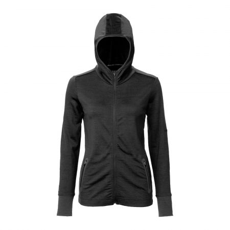 Javero Hooded Jacket Women - Black
