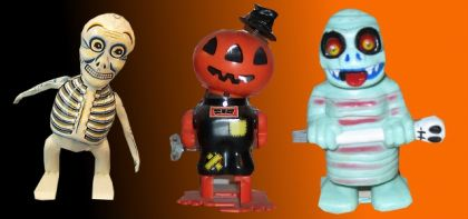 vintage wind up toys: Vintage Halloween, Wind Up Toys, Vintage Wind, Halloween I, Halloween Treats, Halloween Toys