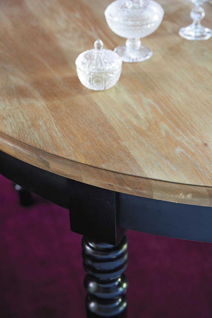 Table à manger ronde ... - Valencay