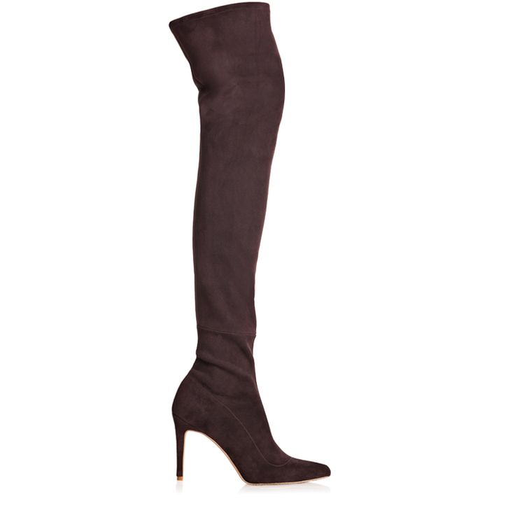 The Icon Stretch Leather Boots