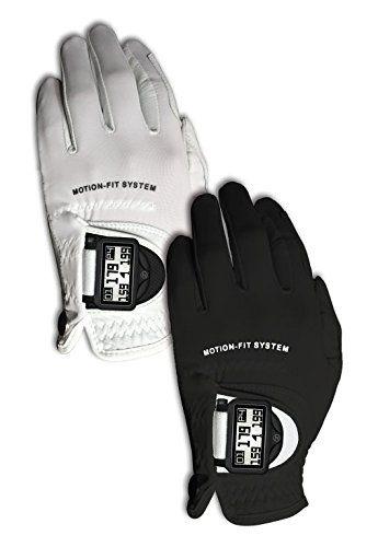Zero Friction Men's Motion Fit by Johnny Miller GPS Golf Gloves