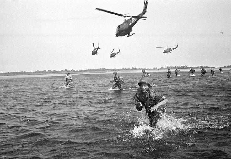 photos de la guerre du vietnam par Horst FAAS - photos of vietnam war