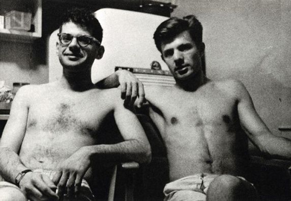 Allen Ginsberg And Carl Solomon : Carl Solomon, The Allen Ginsberg ...