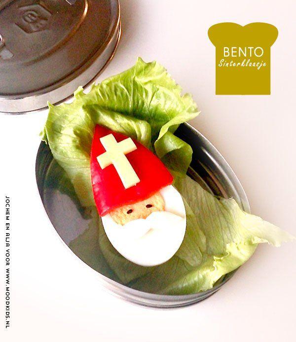 BENTO Sint van een half ei met paprika! - Moodkids | Moodkids