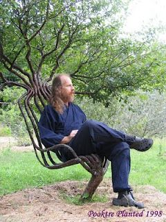 blog w/ directions for growing your own...chairs that is.  OMG, this must be done.