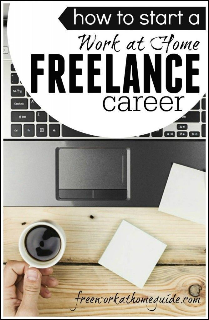 If you are looking to work from home then freelancing or contract work is a great place to start. This can be a career or it can be a place to start if you are looking to start a business online. #freelance http://www.freeworkathomeguide.com