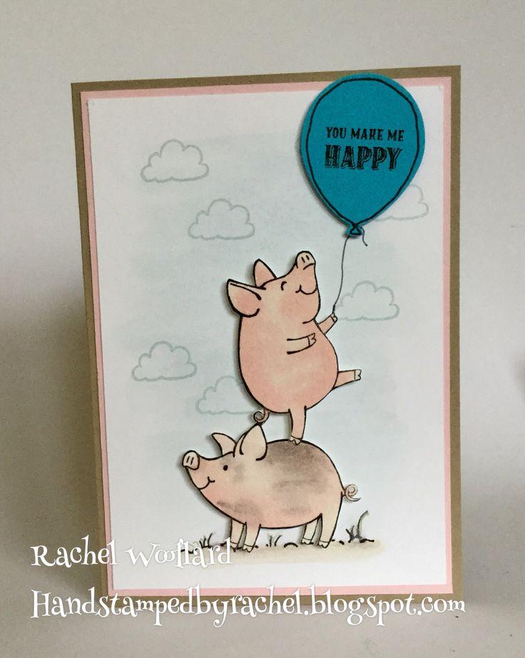 This Little Piggy, Stampin Up 2017-2018 catalogue Rachel Woollard