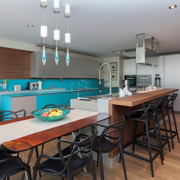 Sem Collections, Beylerbeyi Villa project... Valcucine kitchen.