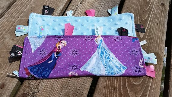 LIMITED SUPPLY Frozen tag blanket Girls by AngelCreationBoutiqu, $13.00