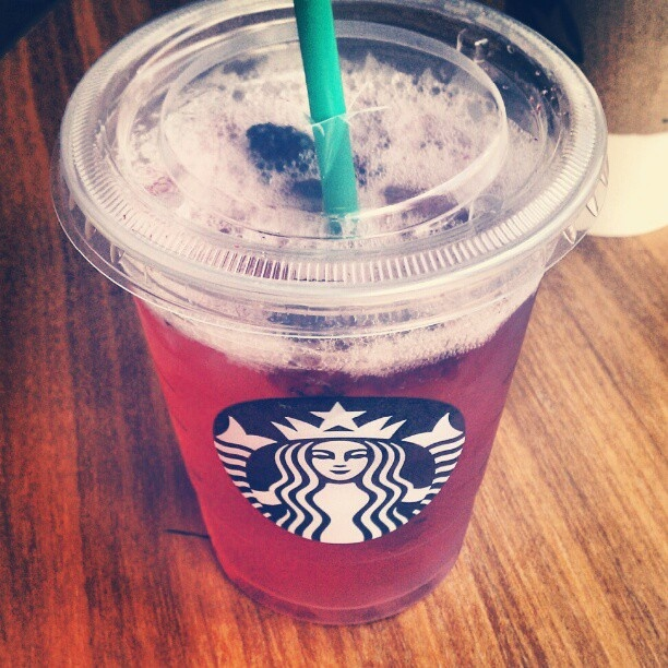 I tried the very berry hibiscus refresher today at Starbucks, and I have to admit it was really refreshing. Tasted like something you would drink at a spa. I would give it a 6 out of 10.
