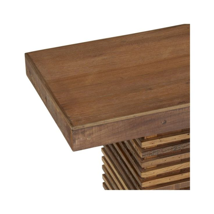 Paloma ii reclaimed wood bench crate and barrel wood for Wood crate bench