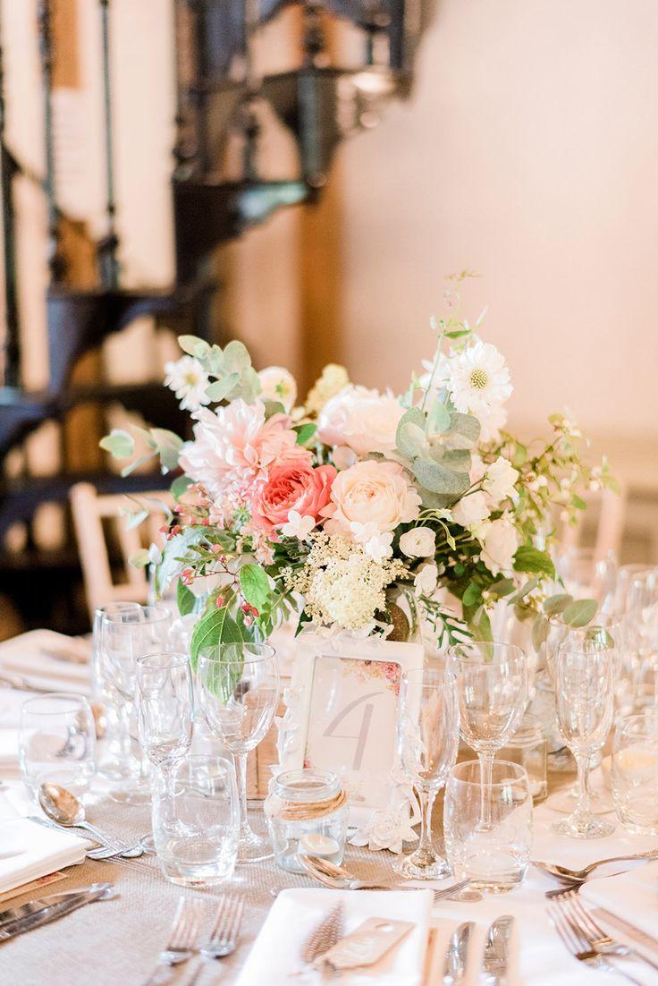 Romantic Table Centrepiece Florals