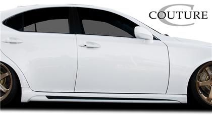 Couture Couture Vortex Style Sideskirts; 2 Piece LEXUS IS250
