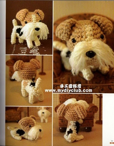 Ami Dog 3 - Suntaree Ja-inta - Picasa Web Albums: Knits Dogs, Amy Dogs, Uc Amigurimi, Crochet Amigurumi, Amigurumi Toys, Amy Amy