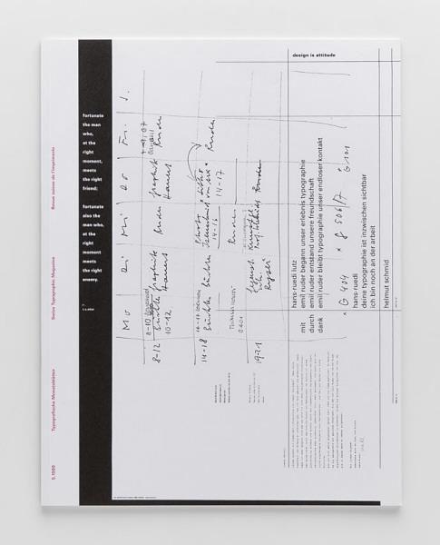 TM Typographische Monatsblätter, 5, 1999-Gebrauchsgrafik