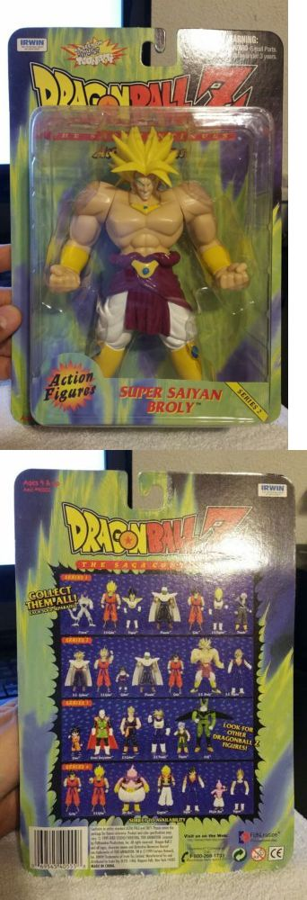DragonBall Z 7117: Super Saiyan Broly Series 2 Action Figure New Sealed Mosc Dragonball Z Dbz Irwin -> BUY IT NOW ONLY: $60 on eBay!