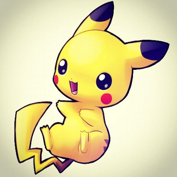 Cute baby pikachu - photo#9