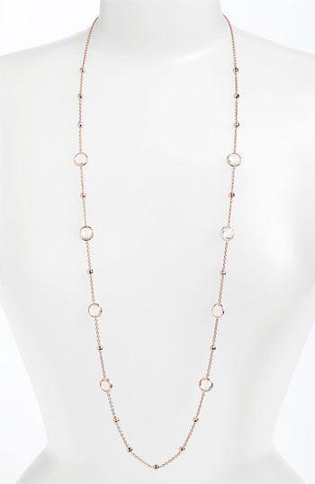 Ippolita 'Rock Candy - Mini Lollipop' Rosé Long Necklace at London Jewelers!