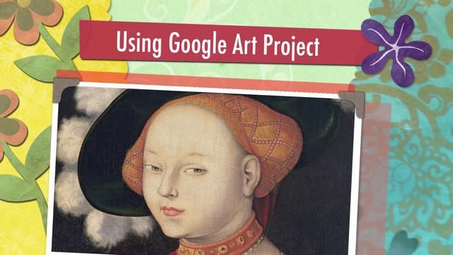 Using Google Art Project by Tricia Fuglestad. We used google art project to help my 5th grade students learn from the masters while creating their self-portraits in a 3/4 pose. The interactive whiteboard gave them a chance to turn the paintings into contour line drawings.