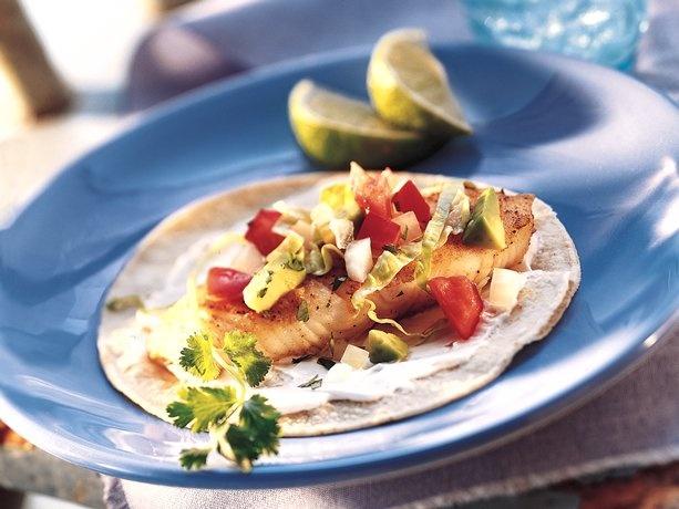 Grilled Fish Tacos I Use Mahi Mahi Cilantro Salsa