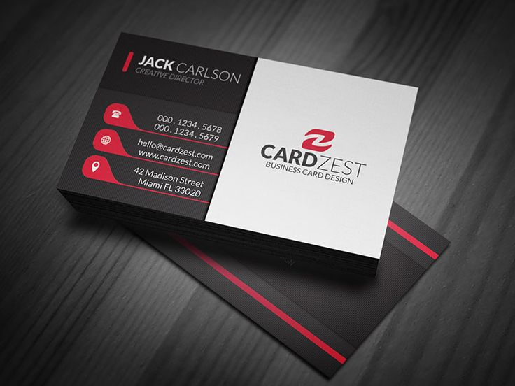 201 best free business card templates images on pinterest free subtle vertical lines business card template flashek Images