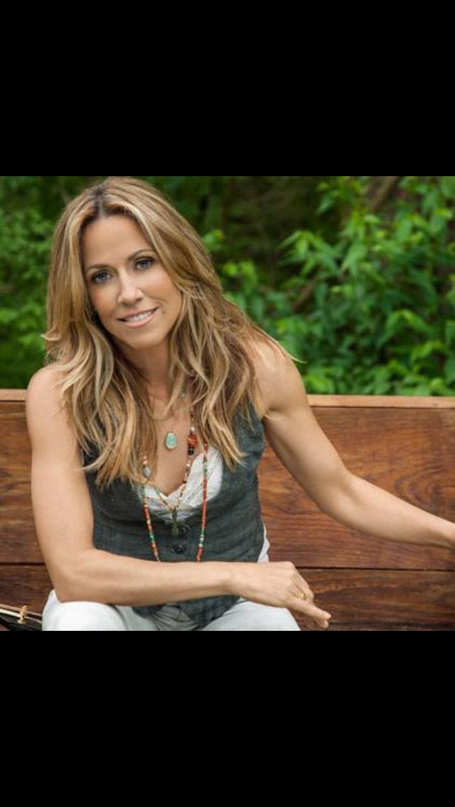 Sheryl Crow. Gosh I hope I can look this good into MY 50's!