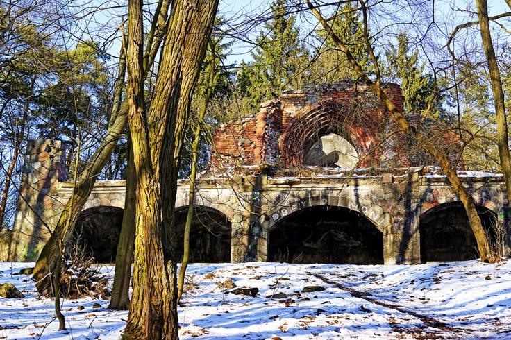 Ruiny wierzy Quistorpturm