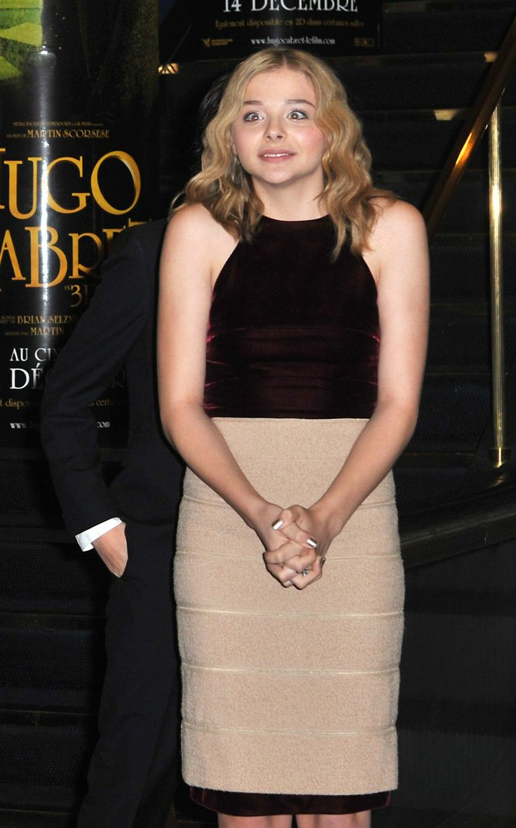 26 best chloe moretz hugo premiere images on pinterest