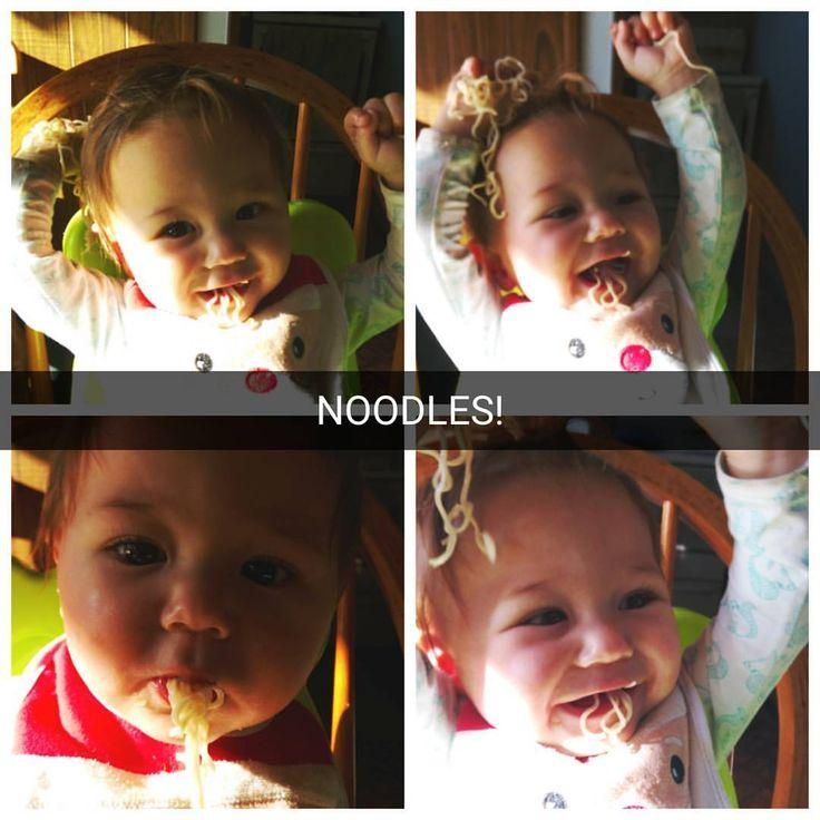 Babys first noodles, the little noodle  #riverthomas