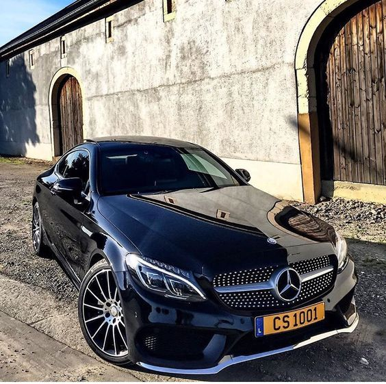 C class coupe. 2016.