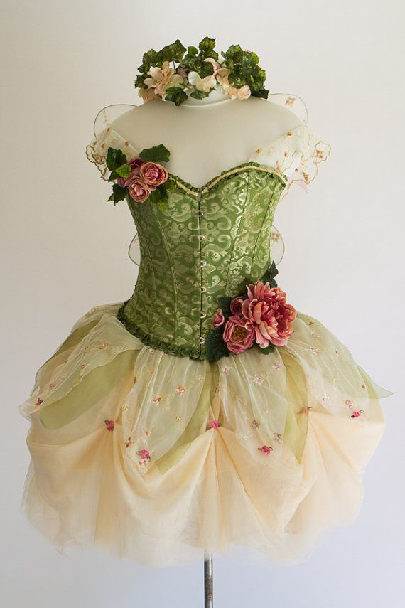 Hey, I found this really awesome Etsy listing at https://www.etsy.com/listing/201885518/adult-fairy-costume-size-m-spring