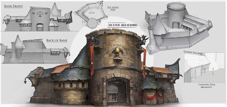 Fable Legends. Online game. Bastion concept.