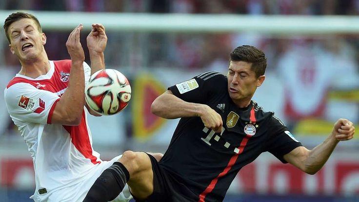 FC Bayern - FC Köln 4-0 -  Kevin Wimmer und Robert Lewandowski