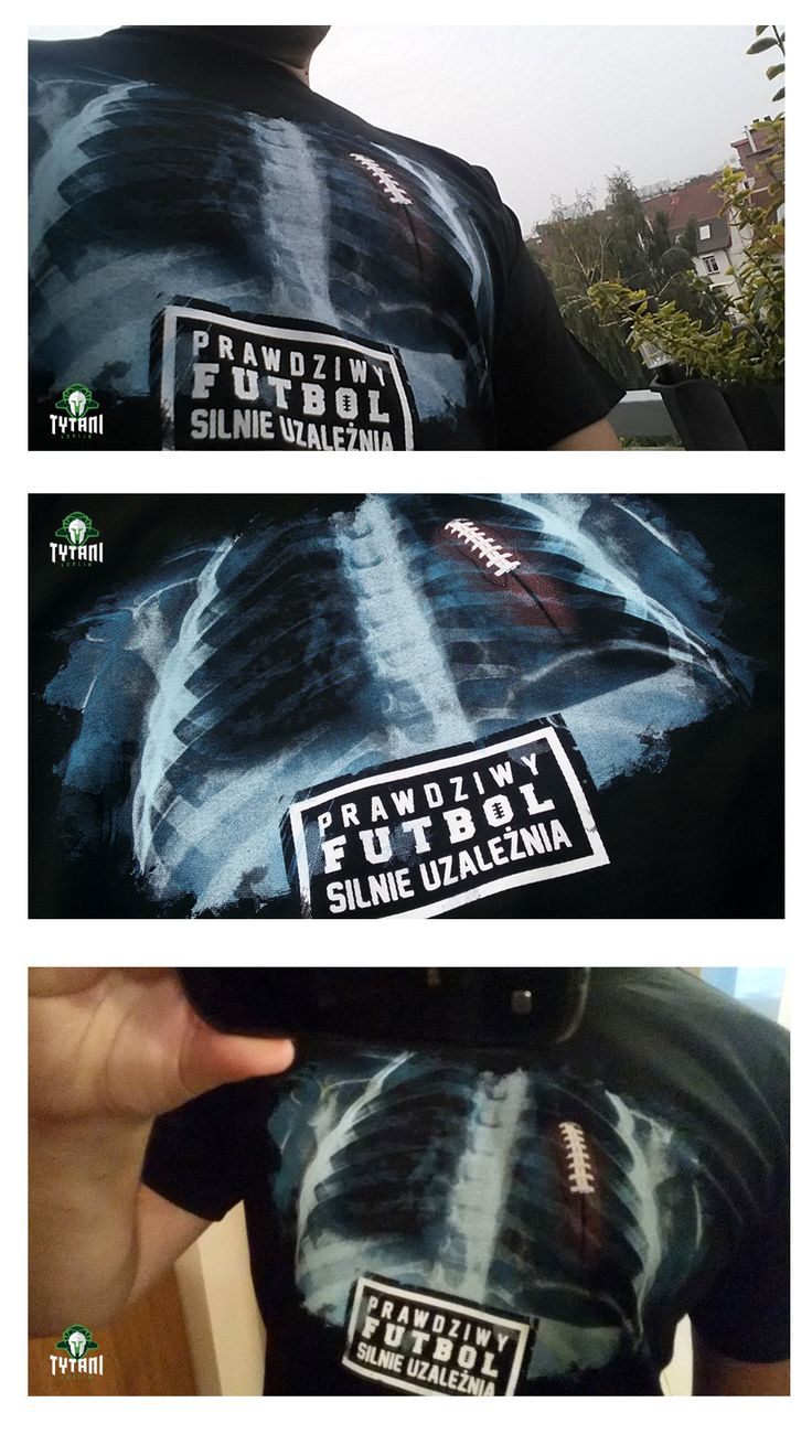 T-shirt design, American football