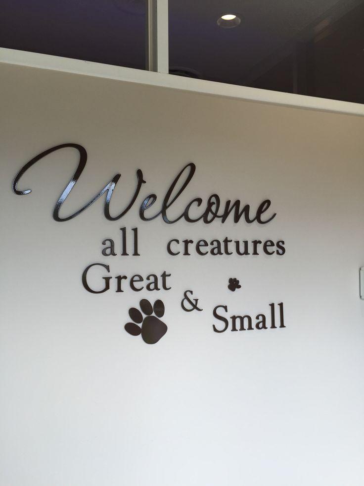 Veterinary wall art