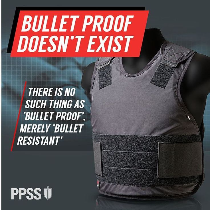 Often referred to as #bulletproof vests - they should be correctly named #bulletresistantvests - because every #bodyarmour can be defeated by a round - subject to the weight, it's velocity, speed or calibre - or the angle the shot is being fired.
