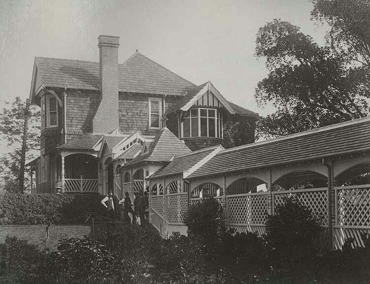 Cottage attached to Government House,Sydney (year unknown). •State Records of NSW•