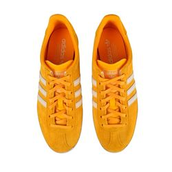 adidas originals Suede Gazelle Perforated Trainers Collegiate Gold