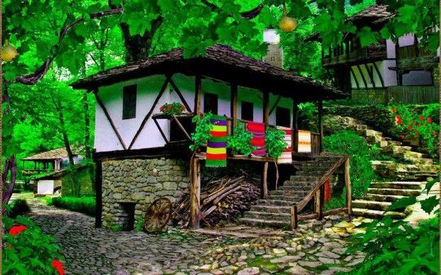 Beautiful old haus in Bulgaria